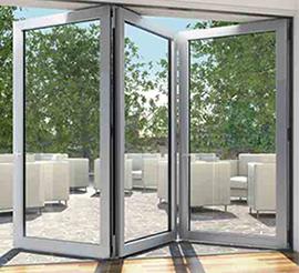 Bifold door aluminium