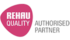 Rehau PVCu windows logo
