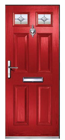 Composite Doors CA24 Clifton Opal