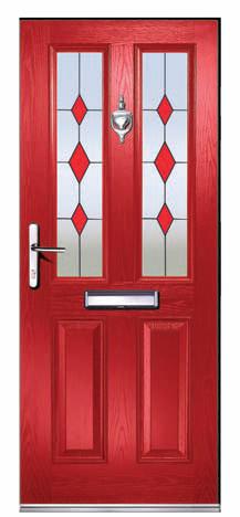 Composite Doors CA26 Clifton Trio