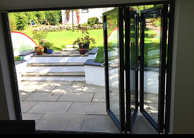 Schuco aluminium doors