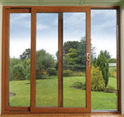 Patio doors upvc triple glazed