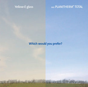 Planitherm Low E Glass Windows