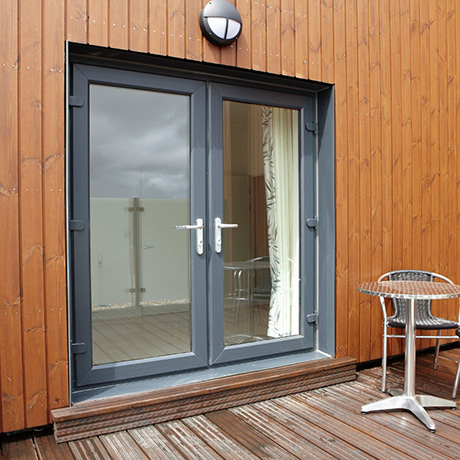 French doors grey Glasgow