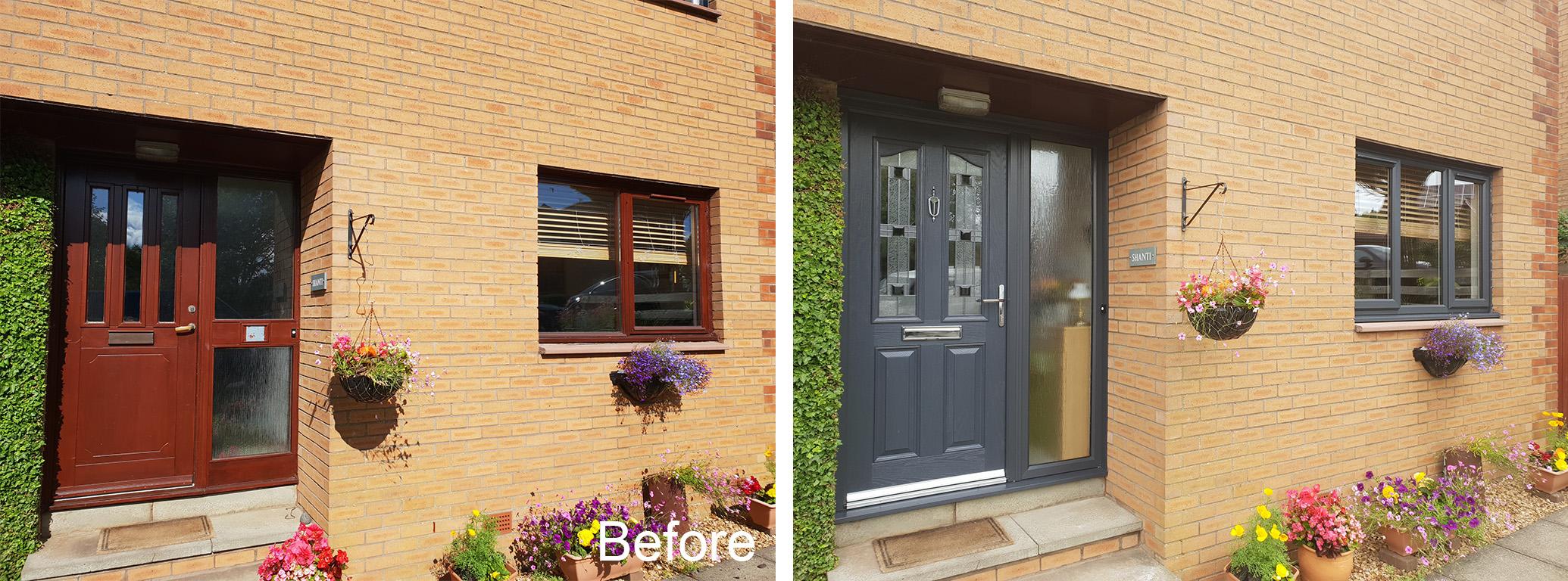 New uPVC windows doors East Kilbride